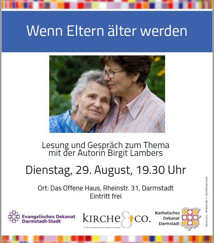 Lesung in Darmstadt